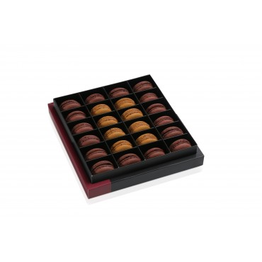 24' lü Klasik Lezzetler Çikolata - Karamel Kutu